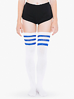 Stripe Thigh-High Socks
