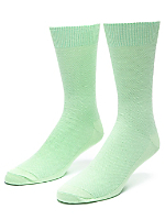 Calf-High Seed Stitched Trouser Sock