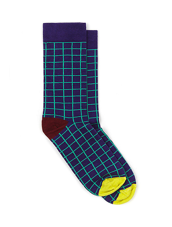 Unisex Patterned Sock