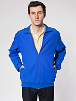 Slub Nylon Wind Breaker