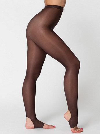 Shiny Stirrup Pantyhose