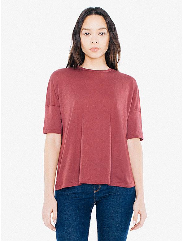 Cotton Modal Easy Drop Shoulder T-Shirt