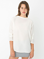 Washed Silk Long Sleeve Tee