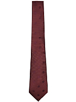 Classic Patterned Silk Tie