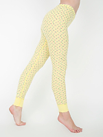 Floral Print Thermal Legging