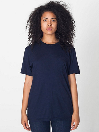 Unisex Tissue Jersey Pocket T-Shirt