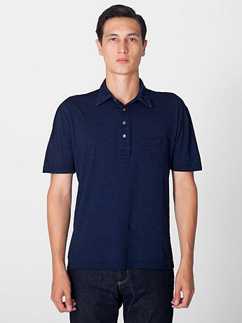 Tissue Jersey Short Sleeve Leisure Shirt