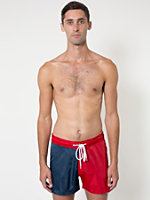 Nylon Twill 2-Tone Board Short