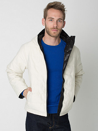 Winged Foot Reversible Hooded Fleece Poly-Fill Jacket