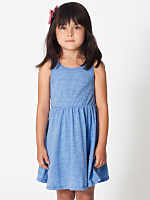 Kids' Tri-Blend Skater Dress