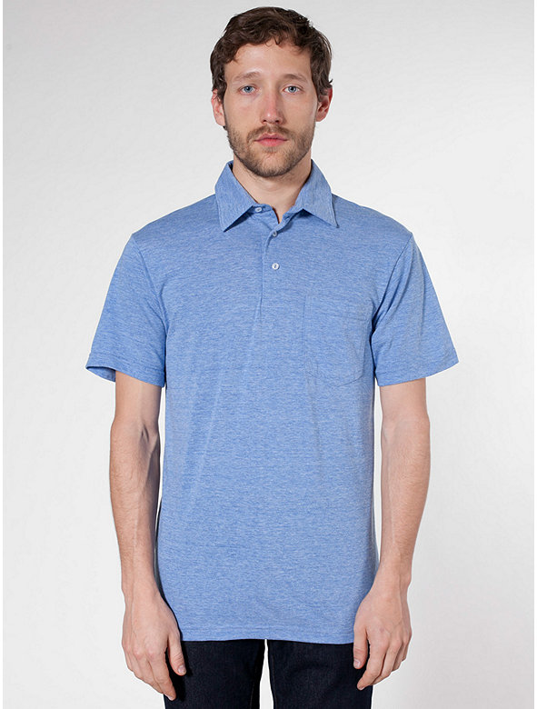 Tri-Blend Short Sleeve Leisure Shirt
