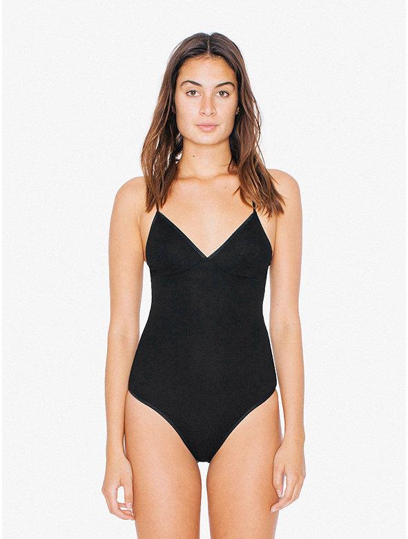 2x2 Rib Triangle Top 'Sofia' Bodysuit