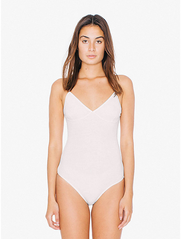 2x2 Rib Triangle Top 'Sofia' Bodysuit