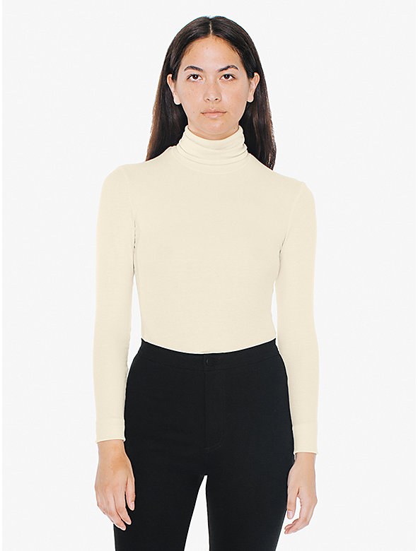 2x2 Rib Turtleneck Top