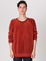 Velour Long Sleeve Raglan