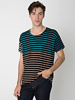 Viscose Color Block Tee