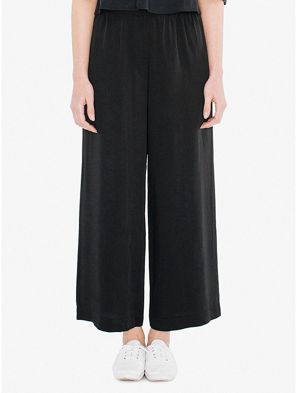 Viscose Twill Chicago Ankle Pant