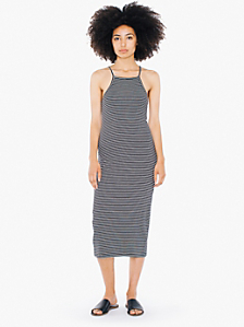 Knitted Mid Length Dress