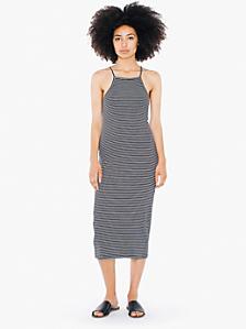 Printed Mid Length Dress