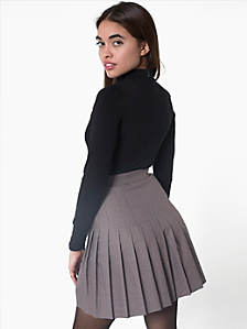 Pleated Schoolgirl Skirt