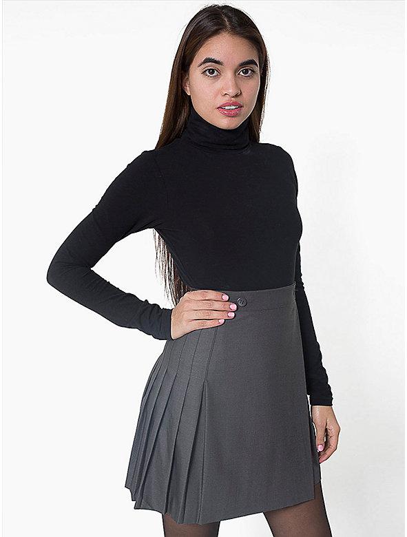 Pleated Schoolgirl Skirt