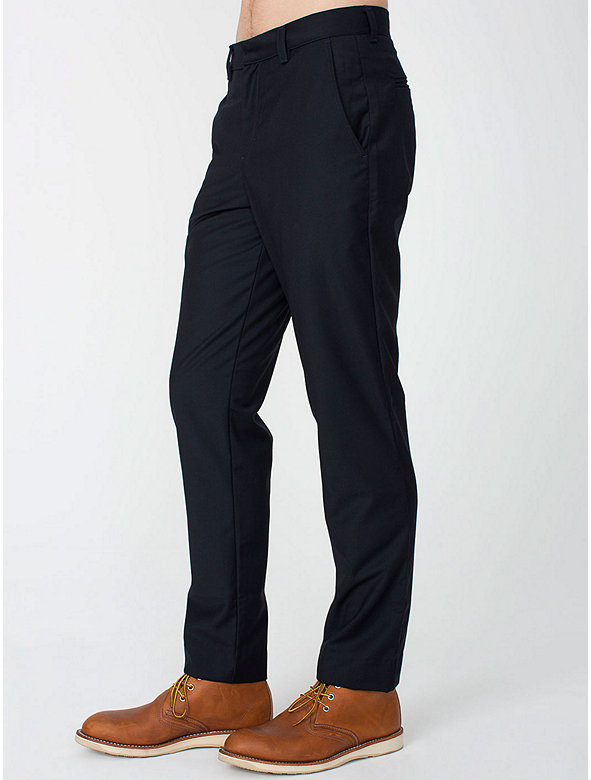 Poly-Viscose Welt Pocket Pant