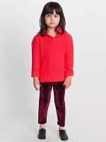 Kids Stretch Velvet Legging