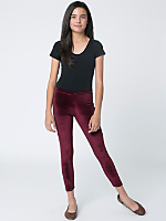 Youth Stretch Velvet Legging