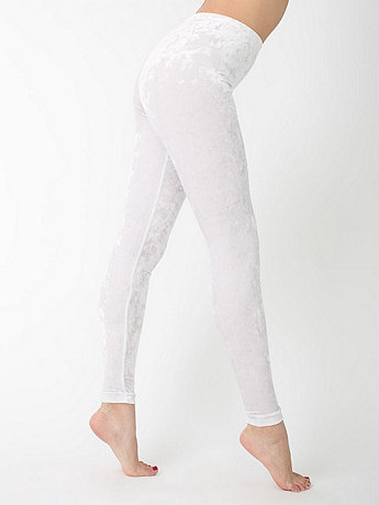 Crushed Velvet Legging