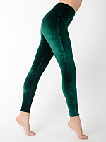 Stretch Velvet Legging