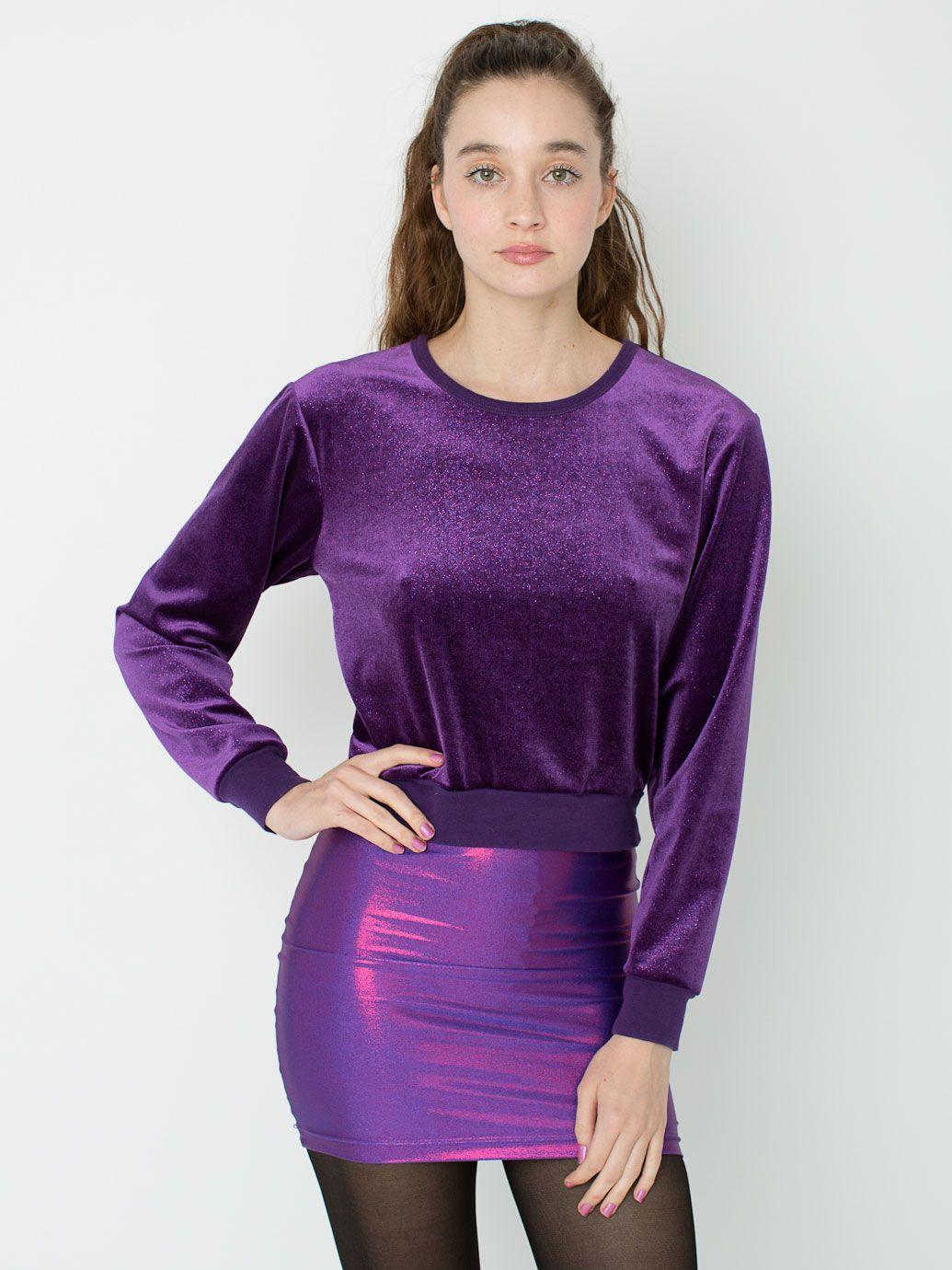Velvet Sweater American Apparel 26