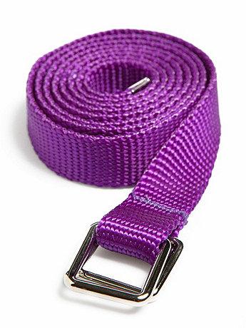 Unisex Skinny Nylon Webbing Belt