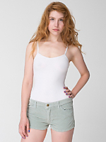 Super Stretch Corduroy Hot Short Shorts