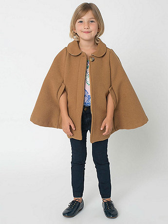 Kids Wool Cape