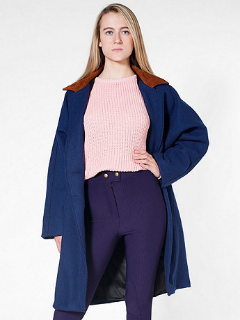 Unisex Long Wool Coat