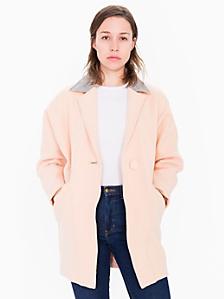 Petite Long Wool Coat