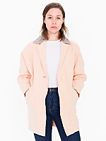 Petite Unisex Long Wool Coat