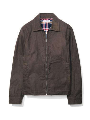 Waxed Cotton Postman Jacket
