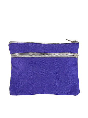 Cotton Canvas Make-Up Bag