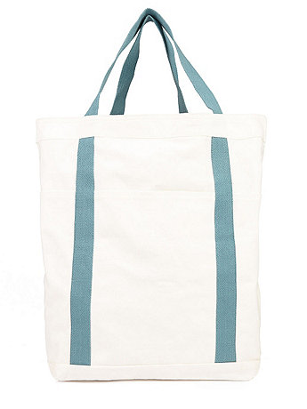 Cotton Canvas Pocket Tote