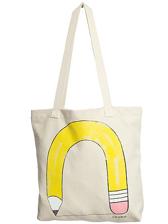 BOOK BAGS Design by Geoff Mc Fetridge