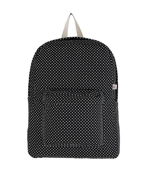 Printed Canvas School Bag