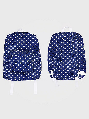 Star Printed Kids School Bag