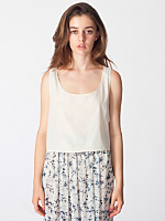 Silky Loose Crop Tank