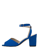 Scalloped Edge Heel