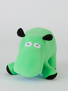 Scrappies Stuffed Hippo