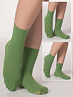 Opaque Patterned Ankle Sock (3-Pack)