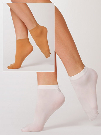 Opaque Ankle Sock (2-Pack)