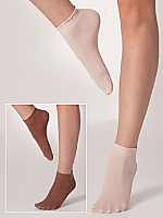 Pointelle Ankle Sock (2-Pack)
