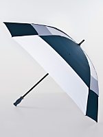 Navy Square Gel Handle Umbrella